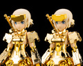 アニメ「フレームアームズ・ガール」に登場する最終戦装備「轟雷改」が、豪華ゴールドメッキ仕様にて登場!