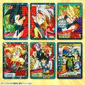 「カードダス ドラゴンボールスーパーバトルシリーズ」から、厳選された30種のカードとバインダーがセットで登場!