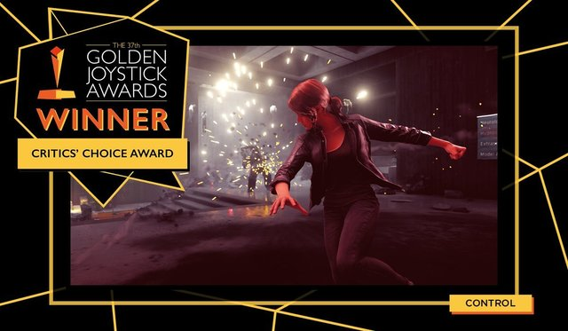 PS4「CONTROL」、イギリスのビデオゲームアワードで「Critics' Choice Award」を受賞!