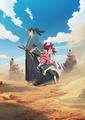 P.A. WORKSが贈るオリジナルアニメ「天晴爛漫!」、ティザービジュアルが公開!