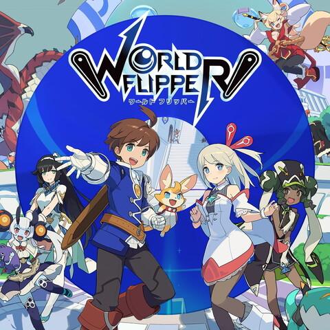 サイゲームス、ノンストップ体当たりアクション「WORLD FLIPPER」、本日11/27より配信開始