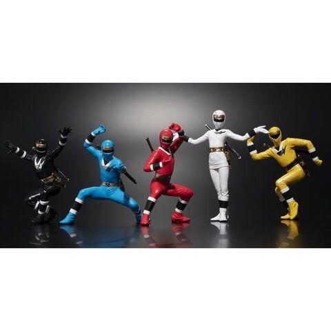 放送25周年記念!「忍者戦隊カクレンジャー」の5人がセットになってHGシリーズに登場!