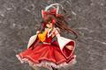 「東方Project」より、華奢な体躯を巫女装束につつんだ優美な雰囲気の「博麗霊夢 唖采弦二Ver.」スケールフィギュアが登場!