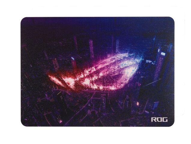 ASUS、低摩擦設計で滑るような操作感の薄型ゲーミングマウスパッド「ROG Strix Slice Mousepad」発売