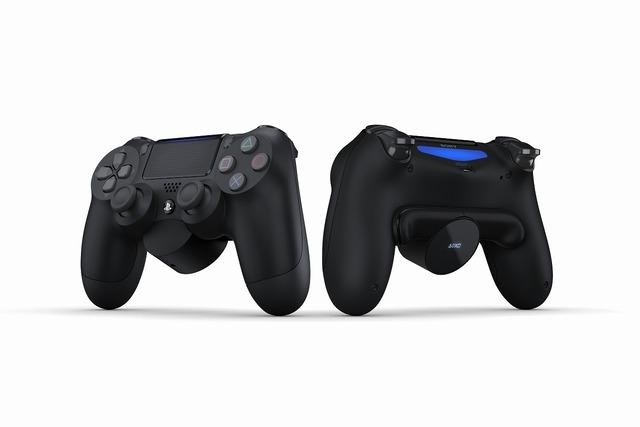 背面に2つのボタンを追加できる! SIE純正「DUALSHOCK 4背面ボタンアタッチメント」が数量限定で発売