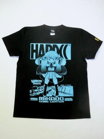 ゲーセンミカドとハードコアチョコレートがコラボした「ミカドちゃん」Tシャツ発売!