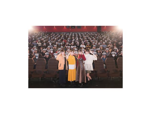 劇場版の最速上映に艦橋メンバー大興奮!「劇場版 ハイスクール・フリート」先行上映会オフィシャルレポート到着!