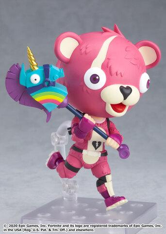 人気ゲーム「フォートナイト」から、かわいい「ピンクのクマちゃん」がねんどろいどになって登場!