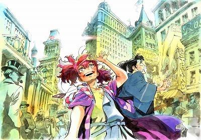 P.A.WORKSの新作アニメ「天晴爛漫!」よりイメージボード3種が公開! W主人公を色鮮やかに表現
