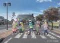 JR身延線特別列車急行「ゆるキャン△梨っ子」運行記念! イベント用描き下ろしイラストを使用したグッズ販売が決定!