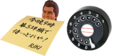 令和2年の幕開けに、竹内力が! 黒電話のダイヤル「だけ」が! ガチャに登場! 【ワッキー貝山の最新ガチャ探訪 第36回】