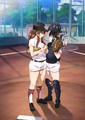 まんがタイムきららの青春女子野球ストーリー「球詠」、新越谷高校野球部全員集合の新キービジュアルが解禁! サイン入りアフレコ台本が当たるTwitterキャンペーンも開始!