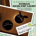 デスク周りをほんのり優しい光でハロが照らしてくれる!「機動戦士ガンダム」より、かわいいハロのデスクトップライトが登場!