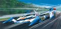「新世紀GPXサイバーフォーミュラ」より、ハヤトの「νアスラーダAKF-0」と、加賀の「オーガAN-21」がリニューアルして再登場!!
