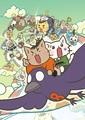 2月22日(にゃんにゃんにゃんの日)に公開の「映画 ねこねこ日本史」、非売品マグネットを抽選で5名にプレゼント!