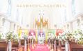 「五等分の花嫁」コミック完結記念! 花嫁の巨大絵画の共同パートナーになれる企画が開催。本物のチャペルで鑑賞も可能