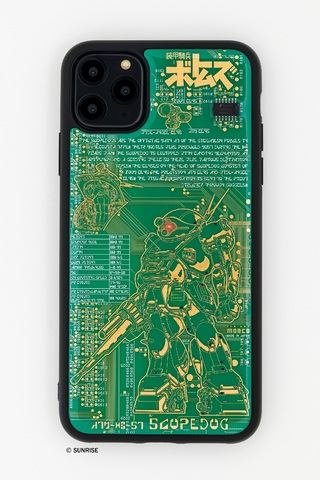 「装甲騎兵ボトムズ」のスコープドッグをデザインした新型iPhone 11&ICカード用ケースが本日2/17発売!!