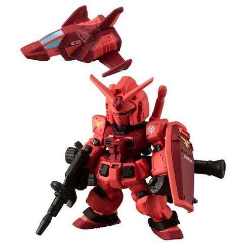 「機動戦士ガンダム ギレンの野望」に登場する「キャスバル専用ガンダム」が、「FW GUNDAM CONVERGE:CORE」にサプライズ襲来!