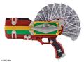 プレミアムバンダイにて「仮面ライダー剣」のギャレンの変身セットが登場! 170種以上の台詞&BGM再生機能も