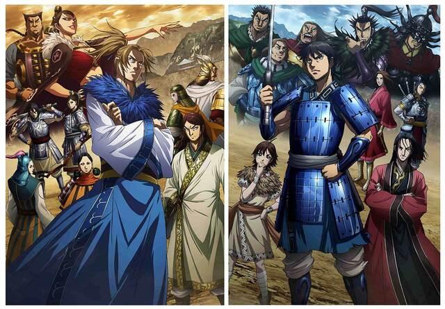 春アニメ「キングダム(第3シリーズ)」、秦国と合従軍のビジュアルを公開! 原作・原泰久も「想像以上にスタイリッシュ」と太鼓判