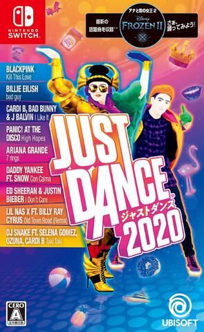 ヒット洋楽でダンスしよう! Nintendo Switch用ソフト「ジャストダンス2020」が本日発売