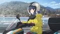 「へやキャン△」BD&DVDに収録の新作エピソード「サウナとごはんと三輪バイク」PVが公開。リンが旅先でサウナに入浴!