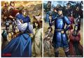 春アニメ「キングダム」、BiSHの歌うOPをバックに秦国vs合従軍の戦いを描くメインPV公開! EDテーマのアーティストも決定