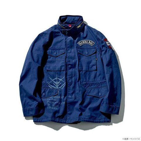 「STRICT-G」×「ALPHA INDUSTRIES」M-65フィールドジャケットに「機動戦士ガンダム」からランバ・ラルモデルが登場!!