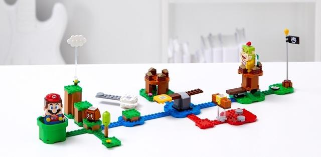 レゴ×マリオがコラボ! ギミック満載の「レゴマリオ、スターターセット」が本日より予約開始