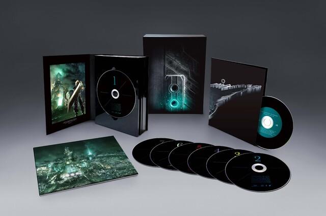 PS4「FFVII リメイク」のオリジナルサウンドトラックの特典画像公開。一部楽曲がWeb上で試聴可能に