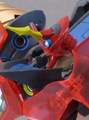驚きの変形ギミック! さらに完成品とキットが選択可能!? ホビーメーカー「スタジオ・ハーフ・アイ」から「大完全変形 超銀河グレンラガン」が2021年6月発売決定!