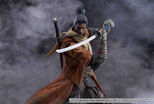 隻腕の狼、戦国に忍ぶ。「SEKIRO: SHADOWS DIE TWICE」より、隻腕の忍「隻狼」がfigma化! DXエディションには鬼仏、【死】エフェクトシートなどが付属