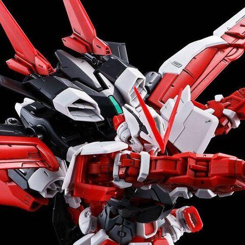「MG 1/100 ガンダムアストレイレッドフレーム」に装着可能なフライトユニットが、単品拡張ユニットで登場!!