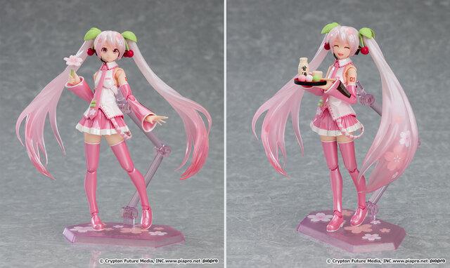 歌姫が桜の精となって春をお届け! 桜をイメージしたかわいらしい装いの「桜ミク」が、figmaに登場!