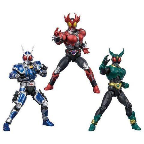 「SHODO-X」シリーズに「仮面ライダーアギト」に特化したプレミアムバンダイ限定セットが登場!