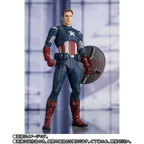 「アベンジャーズ/エンドゲーム」にて、過去へと飛んだ際に登場した「アベンジャーズ」版スーツのキャプテン・アメリカがS.H.Figuartsに登場!!