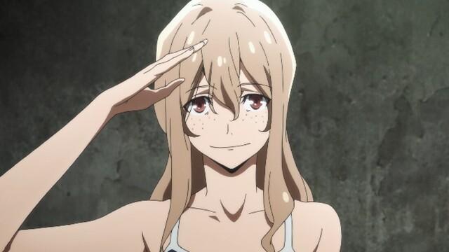 春アニメ「グレイプニル」、第7話のあらすじと先行カット到着! 小柳はエレナが殺人鬼だとは思えないと言うが……