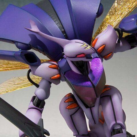 「聖戦士ダンバイン」から、新たなる彩色表現の「ダンバイン (SHADOW FINISH Ver.)」が「ROBOT魂」に登場!