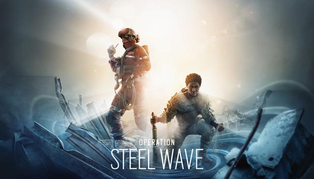 タクティカルシューター「レインボーシックス シージ」の新オペレーション「STEEL WAVE」に関する詳細が判明!