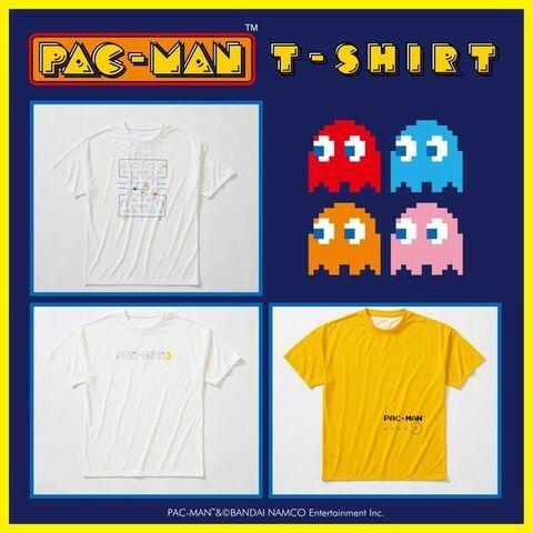 「スーパースポーツゼビオ」×「パックマン」ビッグシルエットTシャツ、数量限定で先行予約受付中!