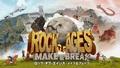 巨大な顔面岩で城門を突破する、PS4用タワーディフェンスゲーム「ロック・オブ・エイジス メイク&ブレイク」8月20日発売決定