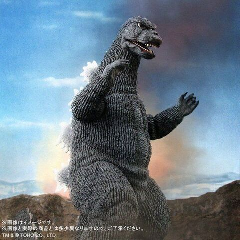 映画「メカゴジラの逆襲」より、東宝30cmシリーズ ゴジラ(1975)が発光ギミックを追加した限定仕様で登場