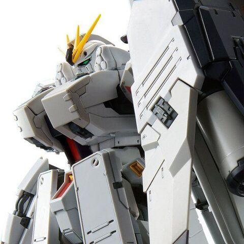 追加装甲を装備し、ハイディテールでHWSを再現した「RG 1/144 νガンダムHWS」が登場!「HWS拡張セット」も!!