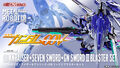 オーライザー、ザンユニット、セブンソード… そしてGNソードIIブラスターを装備した究極のダブルオーガンダムがMETAL ROBOT魂に登場!