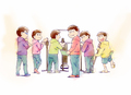 第3期決定の「おそ松さん」、まさかの公式ファンクラブ開設! 6つ子からコメントも到着