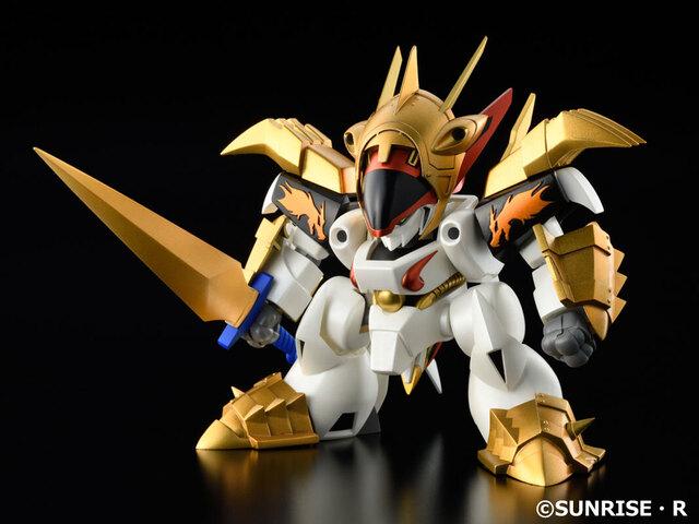 OVA「真魔神英雄伝ワタル」より、皇帝龍に正義の心が認められ、鋼衣をまとった「鋼衣龍王丸」がPLAMAXに登場!