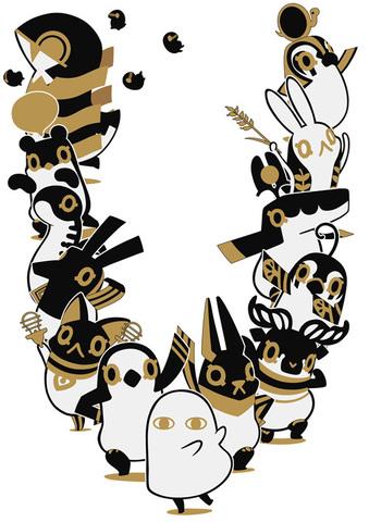 アニメ「とーとつにエジプト神」に下野紘と梶裕貴が出演決定! キャストコメントとキャラクターPVが到着