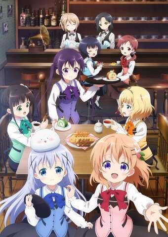TVアニメ第3期「ご注文はうさぎですか? BLOOM」、心がぴょんぴょんしちゃうアニメキービジュアルが公開に!