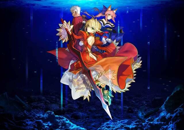 TYPE-MOON studio BB、第1作「Fate/EXTRA Record」開発始動! 新納一哉、武内崇、奈須きのこが「Fate/EXTRA」を自らの手でリメイク