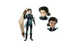 TVアニメ「半妖の夜叉姫」、10月3日(土)~放送開始が決定! PVやメインキャスト、カラー設定画も公開!